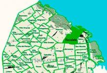 Recoleta en el mapa barrial