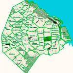 San Cristóbal en el mapa de los barrios