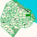 San Nicolás en el mapa de los barrios