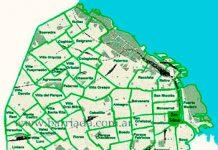 San Telmo en el mapa barrial