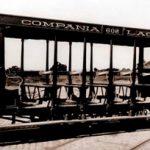 Tranvía de la línea Lacroze
