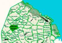 Villa del Parque en el mapa de los barrios