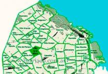 Villa Gral. Mitre en el mapa de los barrios