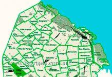 Villa Luro en el mapa de los barrios