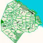 Villa Real en el mapa de los barrios
