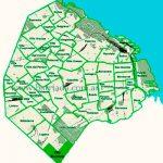 Villa Riachuelo en el mapa de los barrios