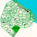 Villa Soldati en el mapa de los barrios