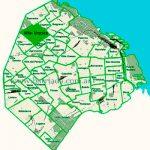 Villa Urquiza en el mapa de los barrios