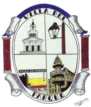 emblema del barrio Villa del Parque