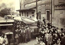 Inauguración del ramal Villa Luro - Versailles del Ferrocarril del Oeste, el 16 de diciembre de 1911.