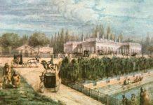 Palermo de San Benito en 1850 , Oleo de Carlos Sívori. Museo Histórico Nacional