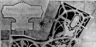 Plano Parque Sud de Carlos Thays