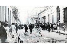 La huelga en los talleres Vasena - La Semana Trágica