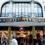 La Richmond , ya convertido en locall comercial
