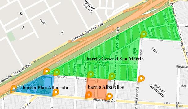 barrios en VillaPueyrredon