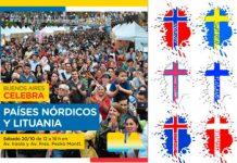 El sábado 20 BA Celebra a los paises nórdicos y a Lituania
