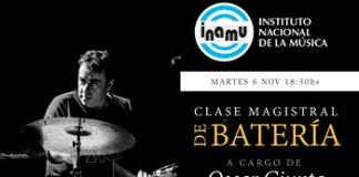 Clase magistral de batería por Oscar Giunta en CABA gratuita en Café Vinilo