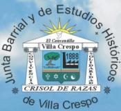 emblema de la Junta de Estudios Históricos de Villa Crespo