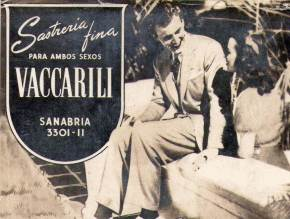 Sastrería Fina Vaccarili - Villa Devoto - 1935 a 1965 - Sanabria 3301/11