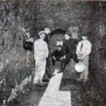 Foto de la galería norte de los túneles bajo el mercado del centro. Revista PBT, 1906.