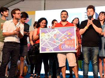 Villa Crespo resultó el ganador de Barrios Creativos
