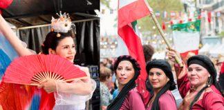 El domingo 4 BA Celebra a Corea y a El Líbano en el barrio de Flores