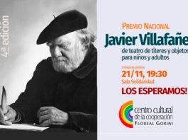 "IV Edición: Premio Nacional ""Javier Villafañe"" 2018"