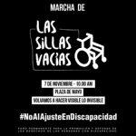 MARCHA DE LAS SILLAS VACÍAS