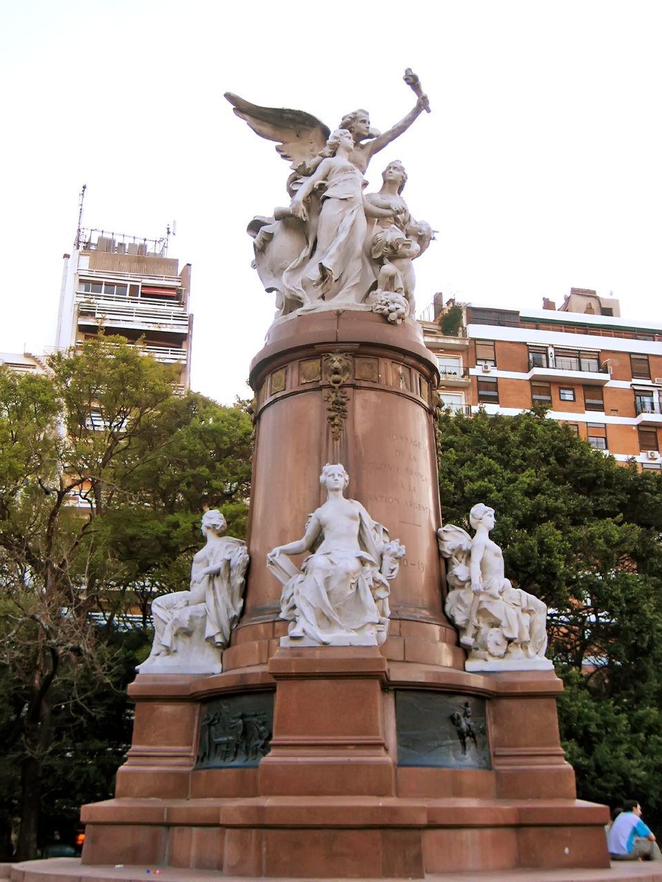 Monumento donado a la Argentina por Francia en ocasión del centenario 1910