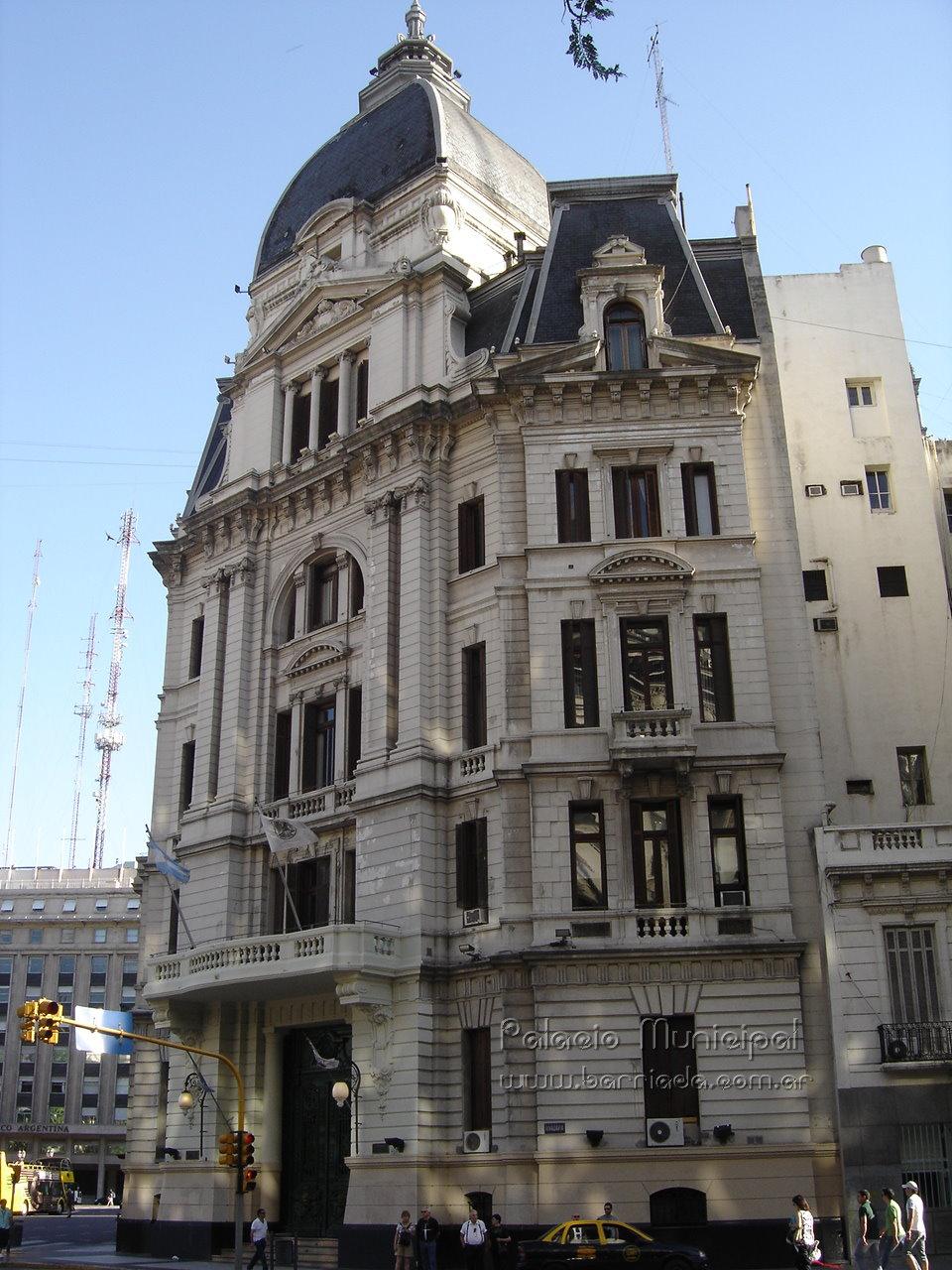 Palacio Municipal - Bolivar 1 - barrio de Monserrat