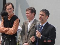 Plazoleta de la Esperanza - Inauguración 09/2005
