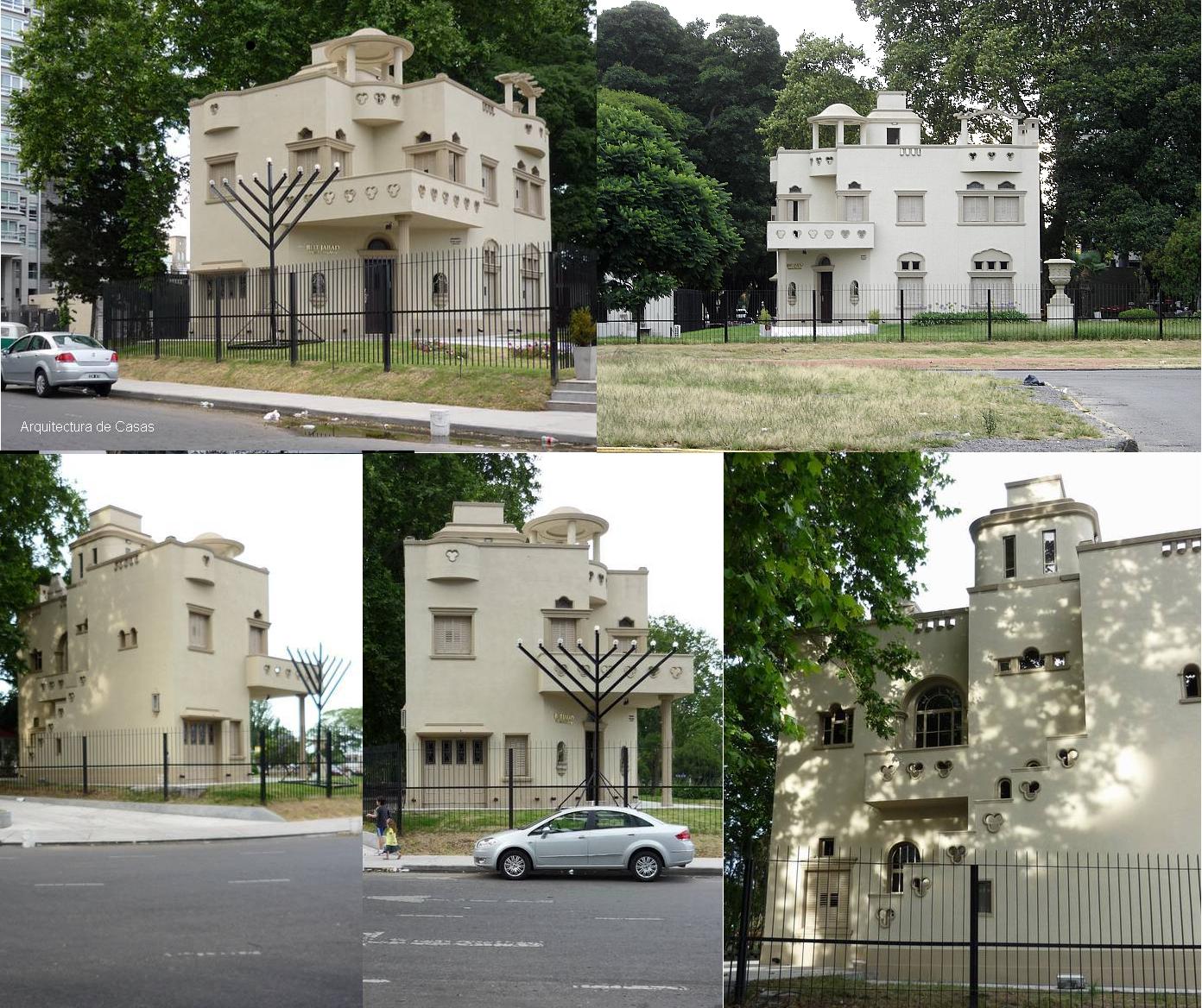 Centro Comunitario y Templo Beit Jabad - Av. de los Italianos y el Blvd. Azucena Villafor - Puerto Madero