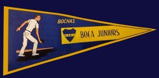 banderín Bochas Club Atlético Boca Juniors