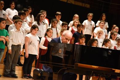 Convocatoria a la Escuela de Canto Coral para niños de 7 a 13 años