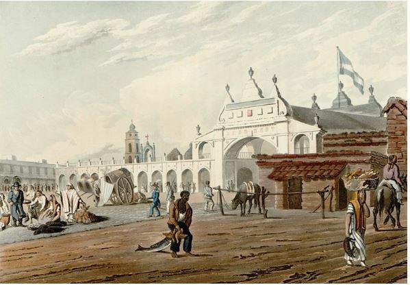 Mendigos en tiempos de la ciudad del ayer por Alberto Pereira Ríos