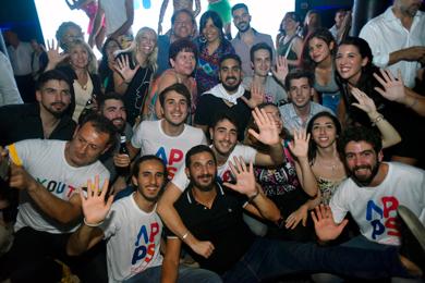 APPS el partido de Tombolini celebró su nacimiento