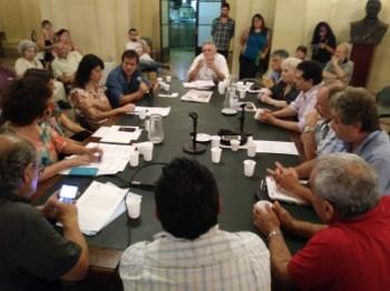 Reunión de Asamblea Ciudadana con Legisladores por la Emergencia Tarifaria