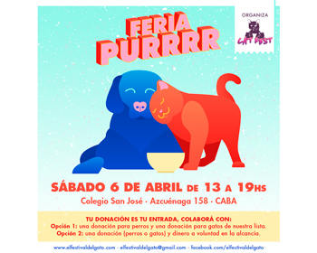 Primera edición de la #FeriaPurrrr del 2019