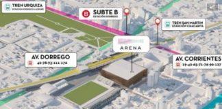 Acción judicial presentada sobre el estadio cubierto en Villa Crespo