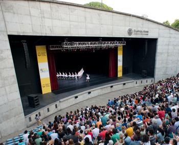 El Ballet del Colón dará 3 funciones en Parque Centenario