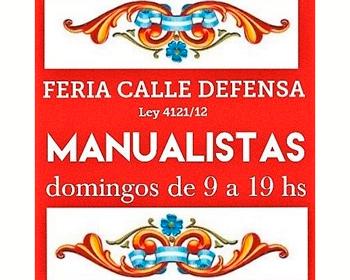 Feria de Artesanos de la Calle Defensa