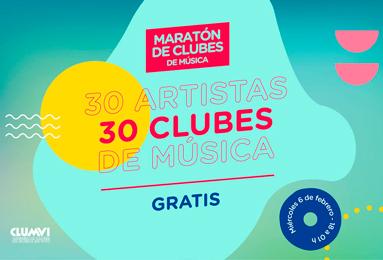 El 6 de febrero no te pierdas la Maratón de Clubes de Música