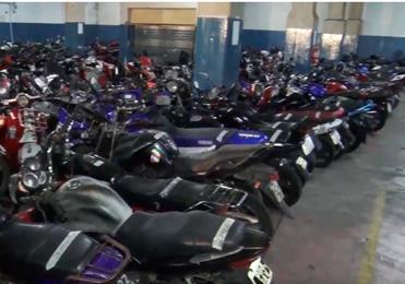 Más de 20 mil motos fueron secuestradas por estar en infracción