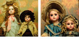 Exposición de muñecas y juguetes antigüos en la Casa Fernández Blanco