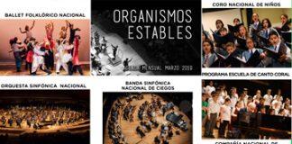 Organismos Estables - Actividades segunda quincena de marzo 2019