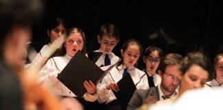 El Coro Nacional de Niños en homenaje a Irma Urteaga