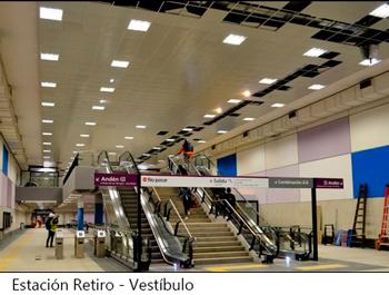 El mes próximo se inauguran 3 estaciones en la Línea E de subte