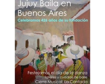 Jujuy Baila en Buenos Aires
