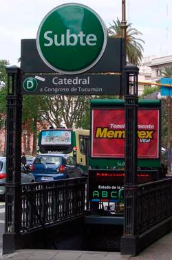 Estación Catedral Línea D