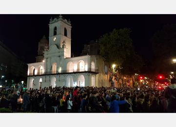 Via Crucis en la ciudad de Buenos Aires